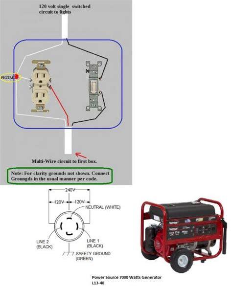 generator wiring 2 way free wiring diagram