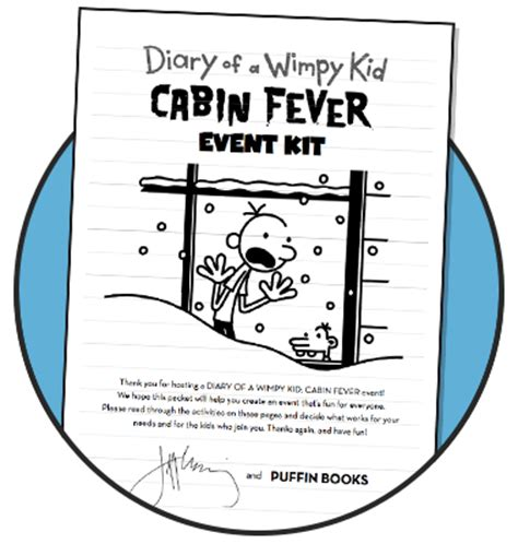 Diary Of A Wimpy Kid Cabin Fever Trailer by Cabin Fever Book Report