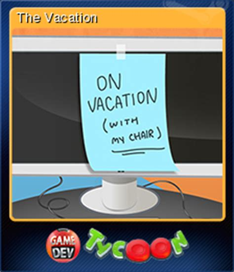 game dev tycoon vacation mod game dev tycoon the vacation steam trading cards wiki