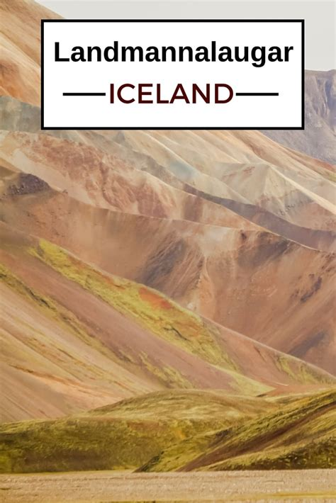 iceland the official travel guide books landmannalaugar iceland photos and practical information