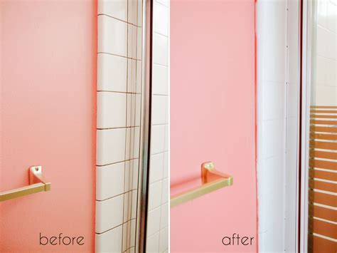 Bathroom Tile Makeover by A Bathroom Tile Makeover With Paint Ramshackle Glam