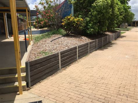 Timber Sleepers Bunnings by 1000 Ideas About Concrete Sleepers On