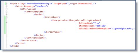 custom layout manager uitextview virtualizing wrappanel wpf silverlight and wp7