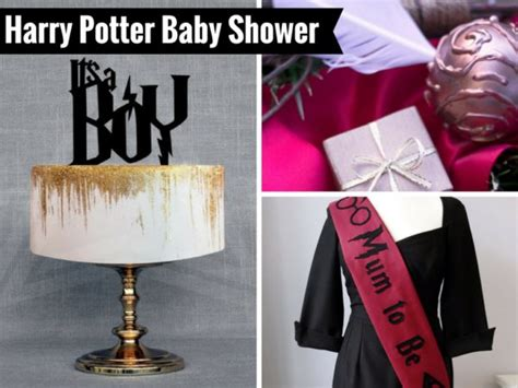 Harry Potter Baby Shower Theme by Harry Potter Baby Shower Decorations And Favors