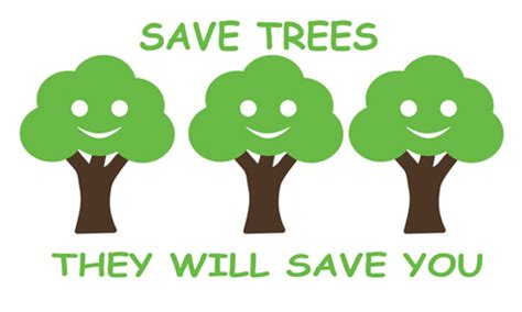 Go Green Save Trees Essay by Save Trees Health Store India