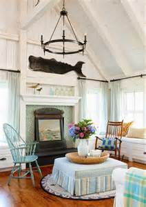 New England Home Decorating Ideas New England Nautical Style Living Rooms Completely Coastal