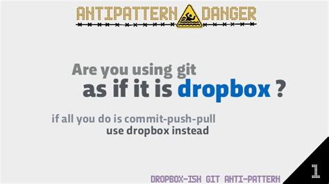 repository pattern antipattern git anti patterns extended version with 28 common anti