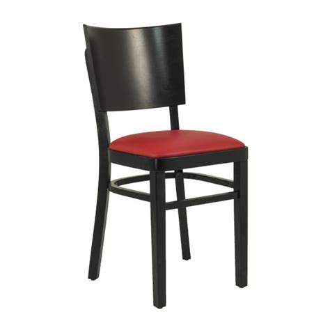 Bistro Table Base Chaise Bistrot En Bois Assise Rembourr 233 Rouge Czh 607 R