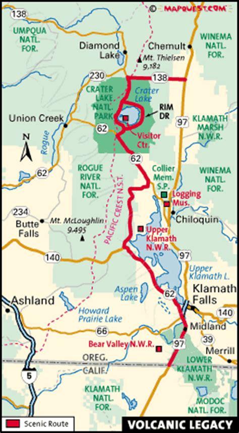 klamath falls oregon map forest service forest service klamath falls