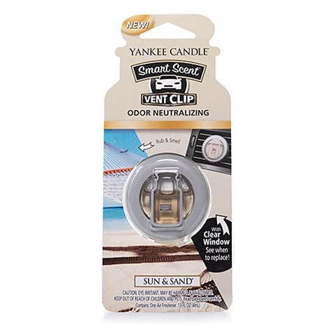 Yankee Mattress Reviews by Yankee Candle Smart Scent Vent Clip Sun Sand 174 Boscov S