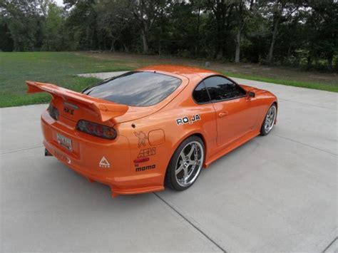 Orange Toyota Supra For Sale Sunburst Orange 1994 Toyota Supra Toyota Supra For