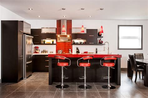 Chocolate Kitchen Cabinets red october kitchen