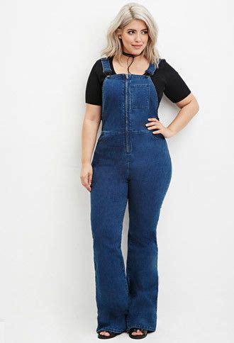 Overall Maxi Longdress Wanita Jumpsuit Rok Dress Denim Xl Jumbo zipped styling ideas for plus size designers collection