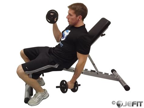 incline bench dumbbell curl dumbbell alternate incline curl exercise database