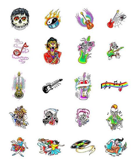 rock music tattoo designs tattoos what do they tattoos designs