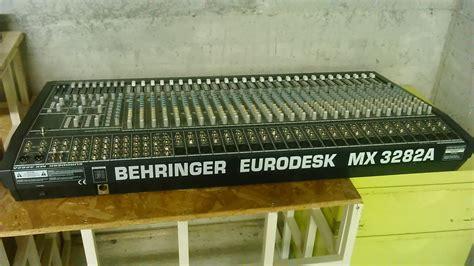 Mixer Behringer Mx3282 behringer eurodesk mx3282 image 952100 audiofanzine