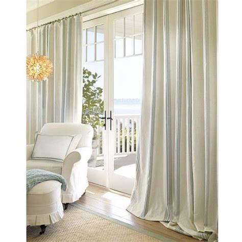 window treatments pottery barn pottery barn riviera stripe drape home decor