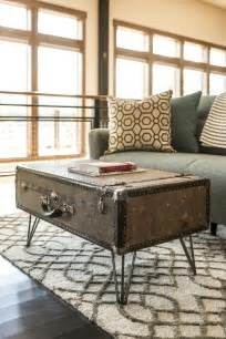 Diy Cheap Coffee Table How To Make A Suitcase Coffee Table How Tos Diy