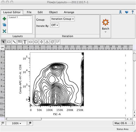 online design layout editor layout controls flowjo v10 0 7 documentation