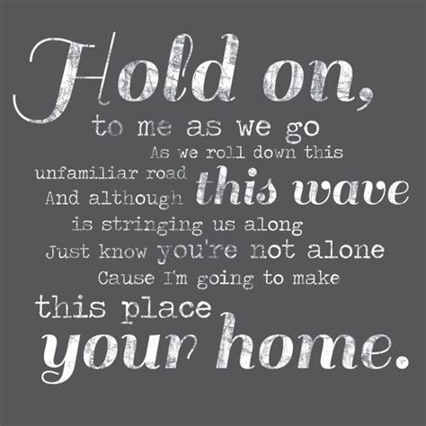 phillip phillips home lyrics wall decor sign stock 20x20