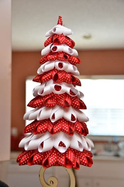11 best ribbon christmas tree images on pinterest