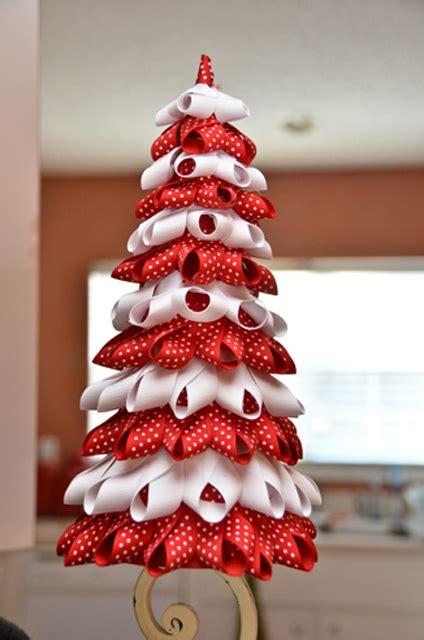 11 best ribbon christmas tree images on pinterest