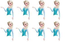 printable frozen cupcake toppers frozen elsa and by