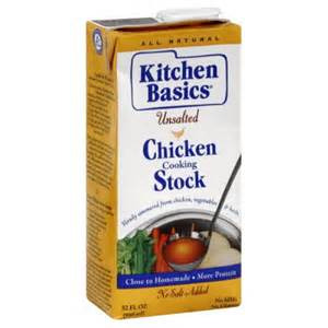 kitchen basics chicken stock unsalted 32 ounce pack of