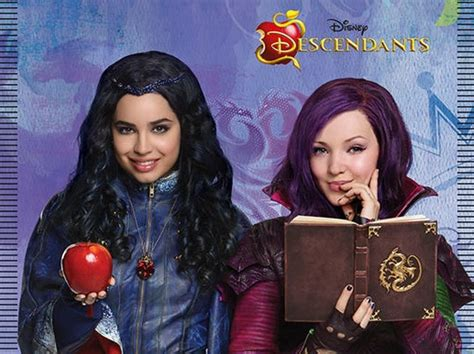 Disney Descendents images Mal and Evie 2 wallpaper and