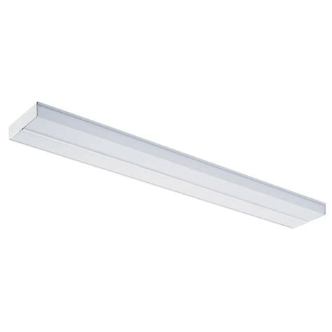 lithonia cabinet lighting lithonia lighting 33 in white t5 fluorescent cabinet light uc 33e 120 m6 the home depot