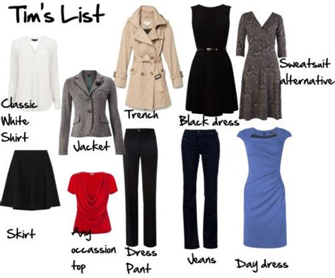 S Wardrobe Basics by What Every Should In Wardrobe