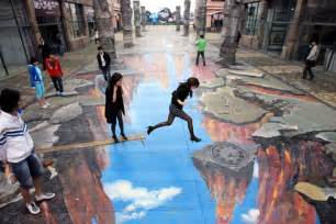 Street Art by Street Art Amazing Optical Illusions Online Find A