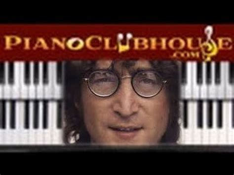 tutorial war is over john lennon happy xmas war is over easy piano