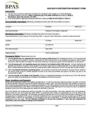 llc distribution receipt template hsa distribution request form bpascom fill