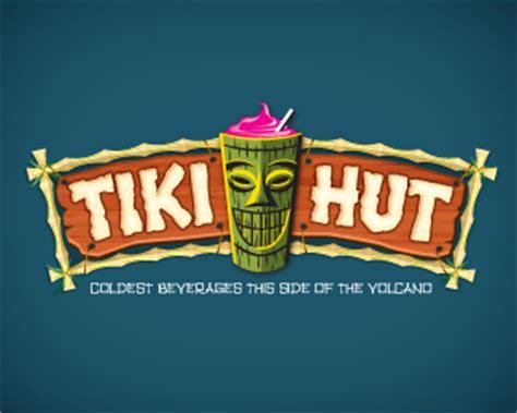 tiki hut brands logopond logo brand identity inspiration tiki hut