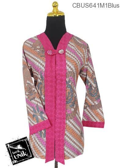 Blus Batik Merak sarimbit blus motif parang selingan peksi merak blus