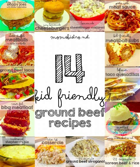 kid friendly dinner menu 14 easy kid friendly ground beef recipes to try for dinner