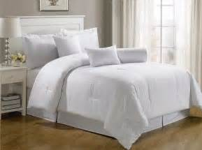 chezmoi collection 7 piece hotel solid dobby stripe