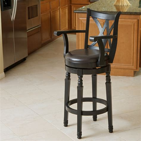 kitchen accent furniture accent kitchen chair dining chair with pu leather seat solid wood swivel function in dining
