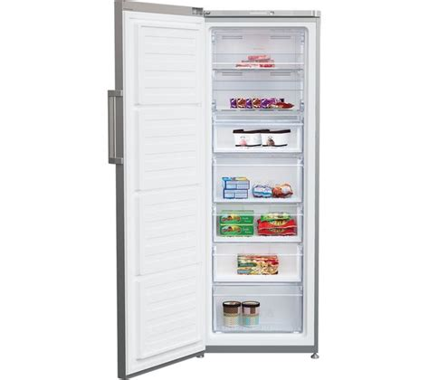 Beko Small Home Appliances Buy Beko Ffp1671s Freezer Silver Free Delivery