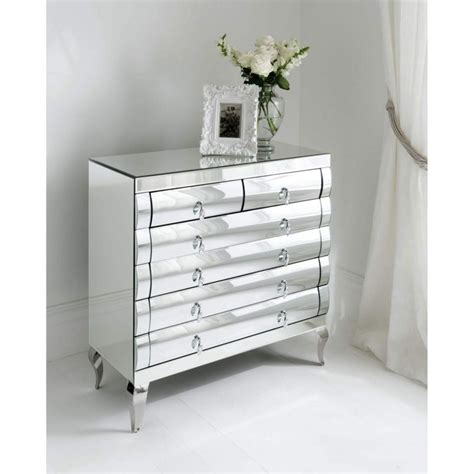 Bedroom Superb Mirrored Nightstand Cheap Mirrored Night Mirrored Bedroom Dresser