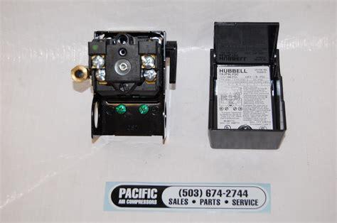 sanborn   pressure switch  unloader valve lever