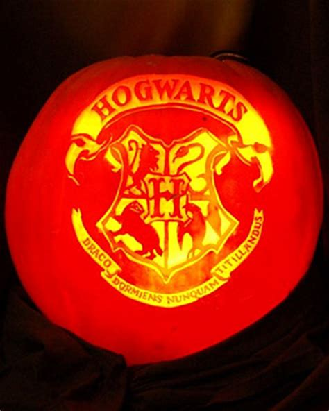 Free Printable Harry Potter Pumpkin Carving Patterns