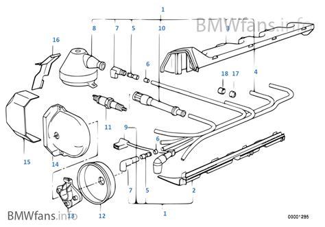 ignition wiring sparkplug bmw 3 e30 316i m40 europe