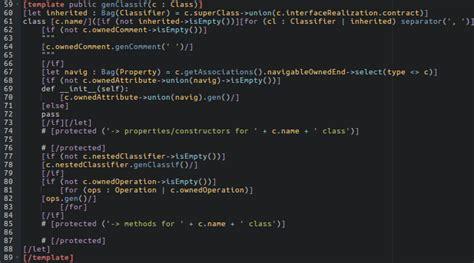 python template python code generator the genmymodel