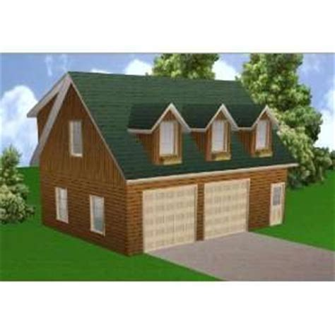 16 X 24 Garage Package by 16x24 Cabin Plan Package Blueprints Material List