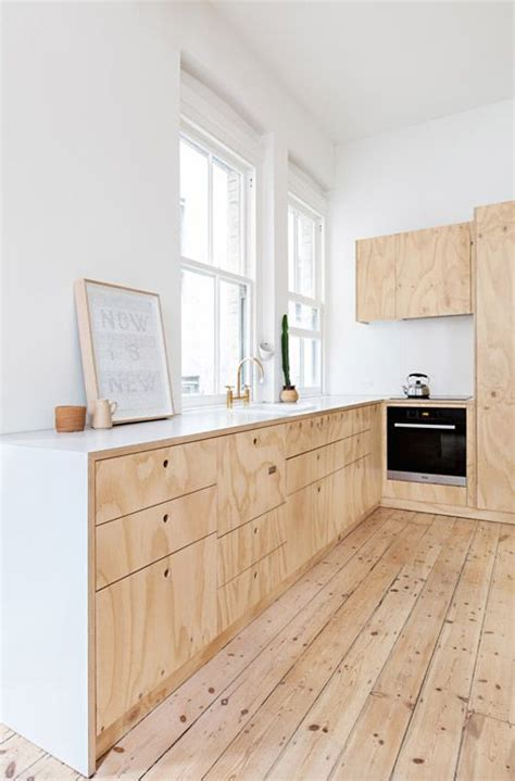 plywood kitchen cabinet lumber yard chic 7 creative ways to decorate with wood
