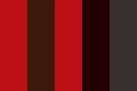 color of blood in of blood aspect color palette