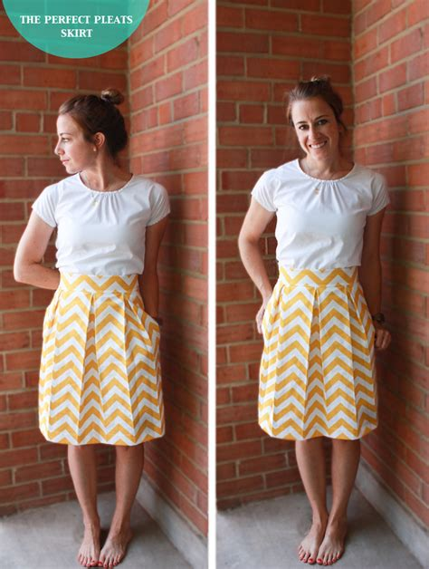 Awning Skirts Diy The Perfect Pleats Skirt Live Free Creative Co