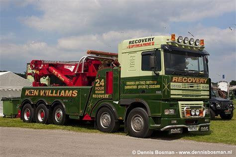 daf xf ken williams recovery   uk trucks towing wreckers trucks heavy truck